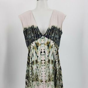 Free People Double V Neck Dress BOHO